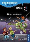 Die drei ??? Kids, Bücherhelden 2. Klasse, Drachen-Alarm! (drei Fragezeichen Kids) (eBook, PDF)
