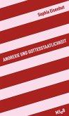 Anorexie und Gottesstaatlichkeit (eBook, ePUB)