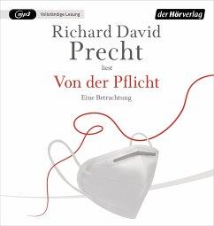Von der Pflicht, 1 MP3-CD - Precht, Richard David