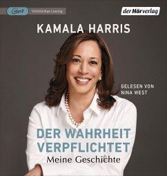 Der Wahrheit verpflichtet, 1 MP3-CD - Harris, Kamala