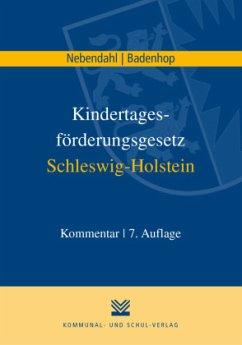 Kindertagesförderungsgesetz Schleswig-Holstein - Nebendahl, Mathias;Badenhop, Johannes
