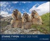 Starke Typen 2022 - Bild-Kalender - Wand-Planer - 60x50