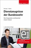 Dienstzeugnisse der Bundeswehr (eBook, PDF)