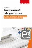 Rentenauskunft richtig verstehen (eBook, PDF)
