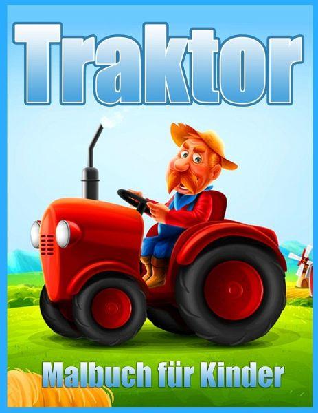 traktor malbuch für kinder von lenard vinci press