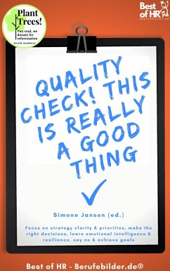 Quality Check! This is really a Good Thing (eBook, ePUB) - Janson, Simone