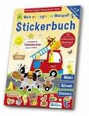 Stickerspaßbuch - Meine Welt im Kindergarten