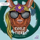 Coole Tiere - Malbuch für Kinder. 6-12 Jahre