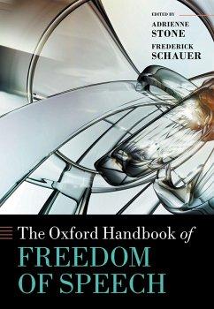 The Oxford Handbook of Freedom of Speech (eBook, PDF)