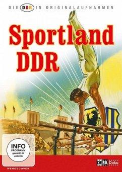 Die DDR In Originalaufnahmen - Sportland DDR - Ddr In Originalaufnahmen,Die