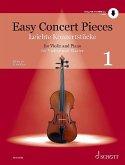 Easy Concert Pieces, für Violine und Klavier