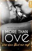 More than Love - Was dein Blick mir sagt (eBook, ePUB)