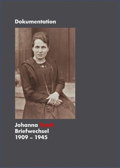 Johanna Tesch Briefwechsel 1909 - 1945 (eBook, ePUB) - Tesch, Sonja