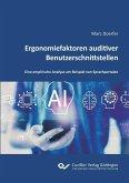 Ergonomiefaktoren auditiver Benutzerschnittstellen (eBook, PDF)