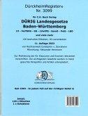 DürckheimRegister® für DÜRIG: BADEN-WÜRTTEMBERG, C.H. Beck Verlag