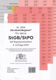 DürckheimRegister® StGB/StPO - 2. Staatsexamen 2021