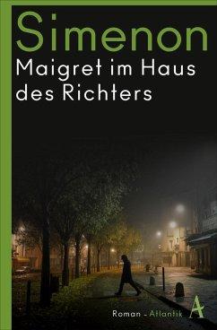 Maigret im Haus des Richters / Kommissar Maigret Bd.21 (Mängelexemplar) - Simenon, Georges
