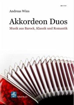 Musik aus Barock, Klassik und Romantik für Akkordeon-Duo, 2 Teile