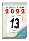 Tagesabreißkalender 2022 9,9x14,3cm 1T/1S 313-0000