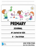 Primary Story Book: Dotted Midline and Picture Space Grades K-2 School Exercise Book Draw and Write 100 Story Pages - ( Kids Composition N