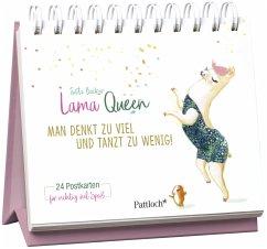 Lama Queen - Man denkt zu viel und tanzt zu wenig! (Mängelexemplar)