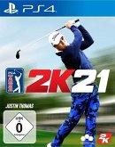 PGA Tour 2k21 (Playstation 4)