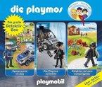 Die Playmos - Die große Detektiv-Box, 3 Audio-CD