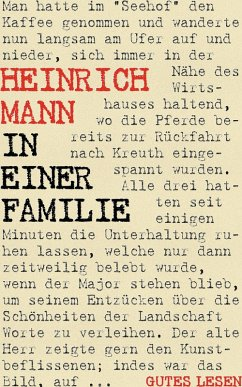 In einer Familie (eBook, ePUB)