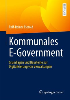 Kommunales E-Government - Piesold, Ralf-Rainer