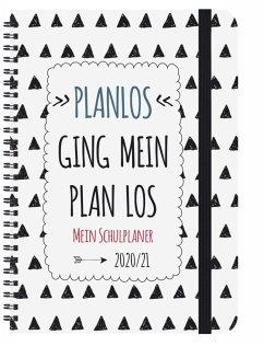 Schülerkalender Planlos 2021/2022
