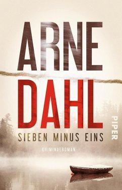 Sieben minus eins / Berger & Blom Bd.1 (Mängelexemplar) - Dahl, Arne