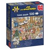 Jumbo 20034 - Jan van Haasteren, Prosit Neujahr, Comic-Puzzle, 500 Teile