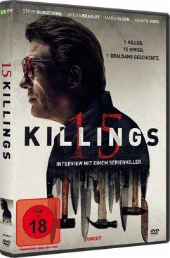 15 Killings - Interview mit einem Serienkiller - Steve Bongeorno,Krista Bradley,Maria Olsen