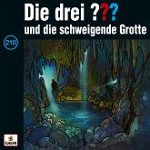 Die drei ??? und Die Schweigende Grotte / Die drei Fragezeichen - Hörbuch Bd.210 (1 Audio-CD)