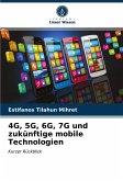 4G, 5G, 6G, 7G und zukünftige mobile Technologien