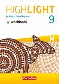 Highlight - Mittelschule Bayern - 9. Jahrgangsstufe Workbook mit Audios online - Für M-Klassen