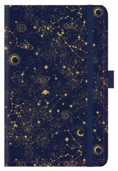 Buchkalender Times Big12 Trend Sternenhimmel 2022