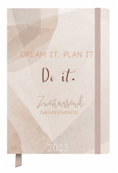 Terminkalender Jahresbegleiter Plan it 2022