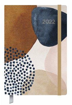 Terminkalender Campus Art Abstrakt 18 Monate 2022/2023