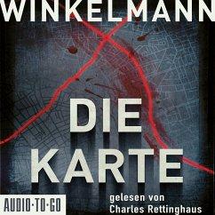 Die Karte, 8 Audio-CD - Winkelmann, Andreas