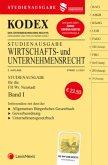 KODEX Wirtschafts- und Unternehmensrecht 2021 Band I