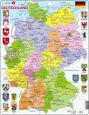 Deutschland (politisch) (Kinderpuzzle)