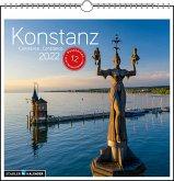 Konstanz 2022. Postkarten-Tischkalender