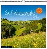 Schwarzwald 2022 Postkarten-Tischkalender