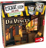 Noris 606101965 - Escape Room Da Vinci's Telescope, Partyspiel, Erweiterung