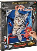 Schipper 609240842 - Malen nach Zahlen, Meisterklasse Klassiker, Katze im Rucksack