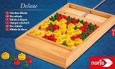 Noris 606101929 - Deluxe, Scheiben Mikado, Geschicklichkeitsspiel