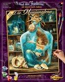 Schipper 609130844 - Malen nach Zahlen, Die Meerjungfrau, 40 x 50 cm