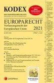 KODEX EU-Verfassungsrecht (Europarecht) 2021