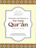 Translation of the Meanings of the Noble Quran in the English Language (eBook, ePUB)